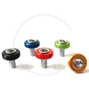 Crank Bolts with Anodized Alloy Dust Cap | Square Taper |...